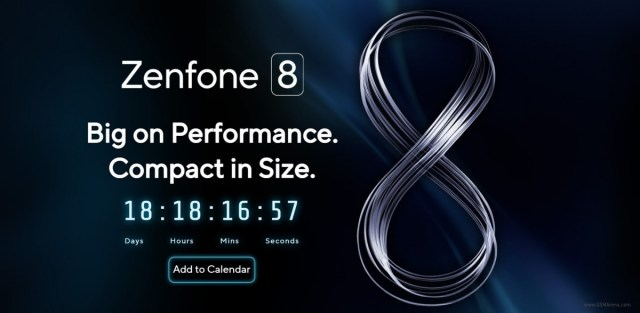 Asus Zenfone 8 will become official on May 12, promised to be ''compact in size''
