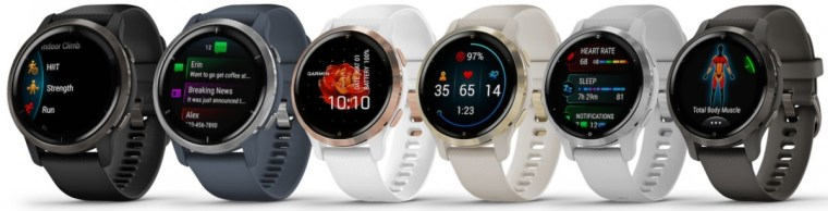 Garmin unveils Venu 2 smartwatch in two sizes with double the battery life