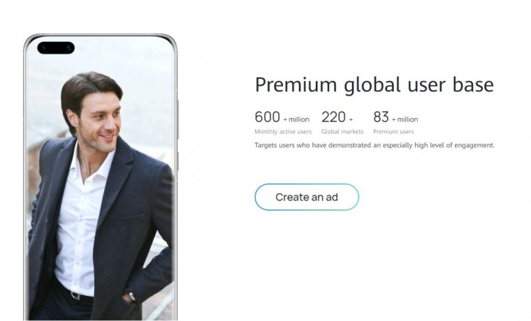 Huawei opens ad partnership program to advertisers in Europe