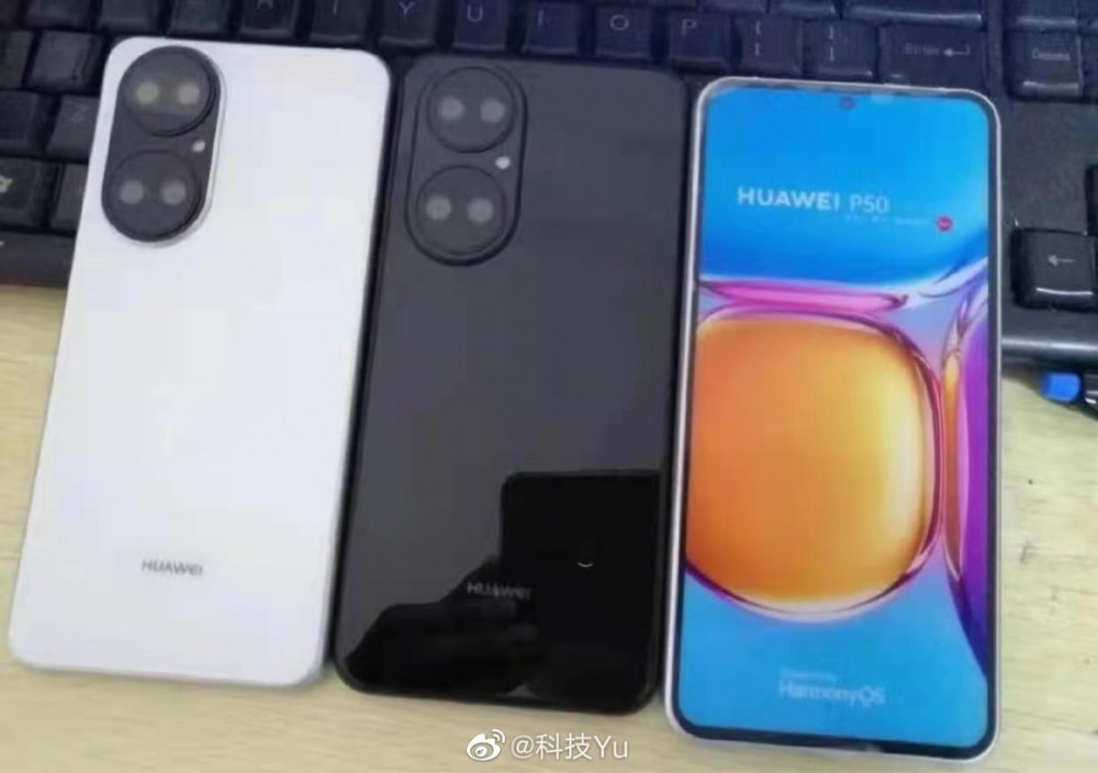 Huawei P50 leaks in hands-on images