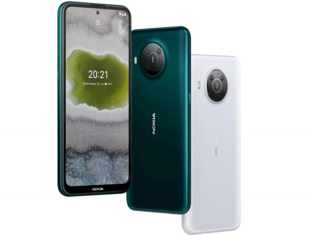 Nokia X10 colours