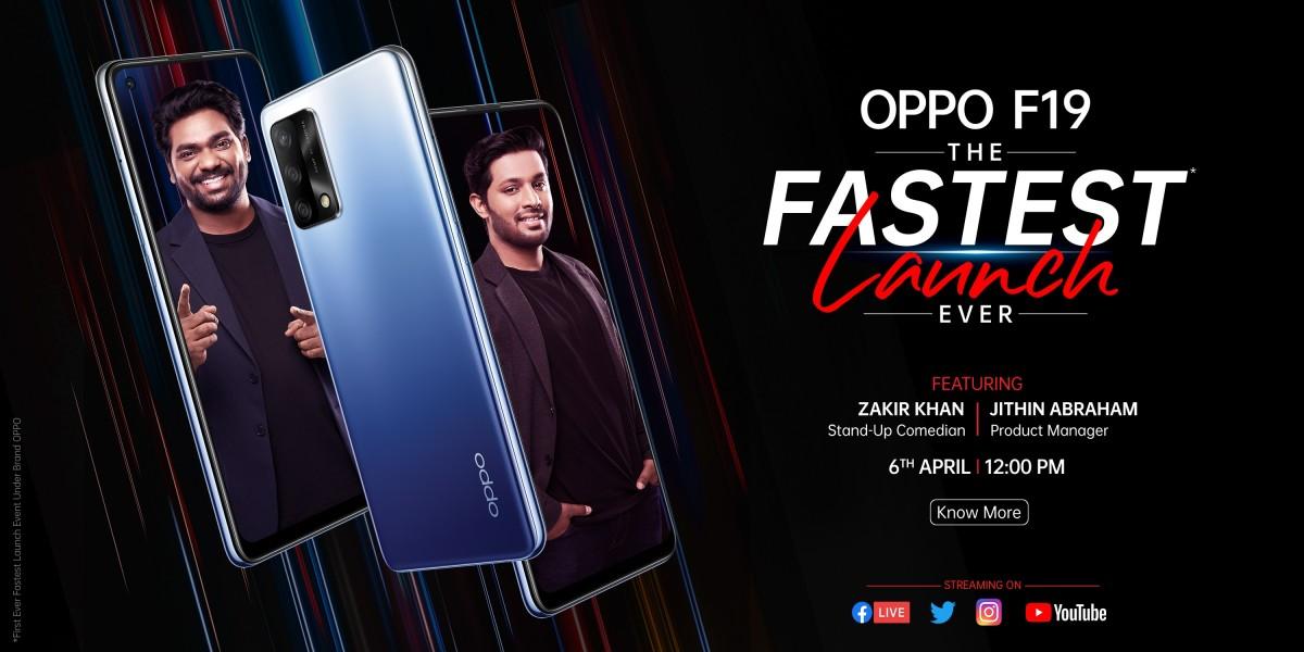 Oppo F19 diluncurkan, perusahaan menetapkan acara peluncuran 6 April untuk India