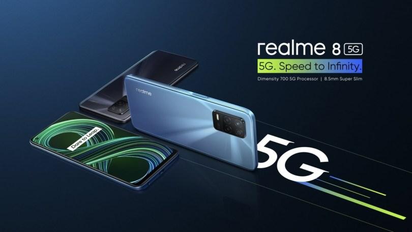 Realme 8 5G hits India