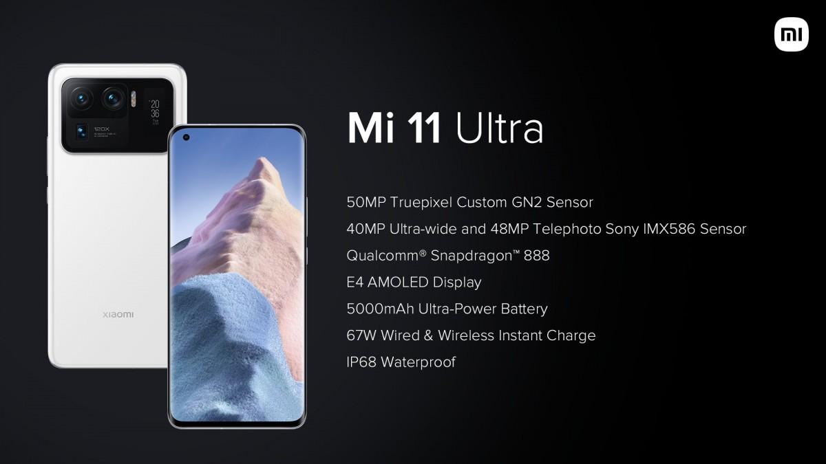 Xiaomi Mi 11 Ultra, Mi 11X Series and Mi QLED TV 75 debut in India