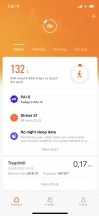 Mi Fit app - Xiaomi Mi Smartband 6 review