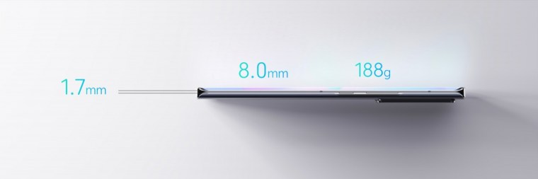 ZTE teases the Axon 30 Ultra with razor-thin frame, reveals battery