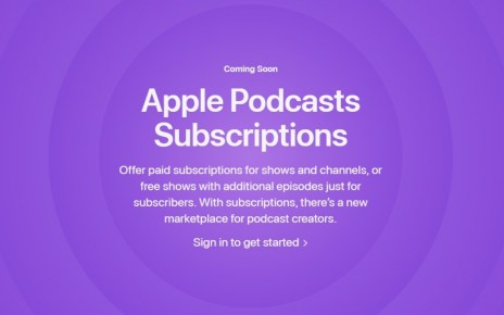 Apple Podcast Subscriptions delayed into June