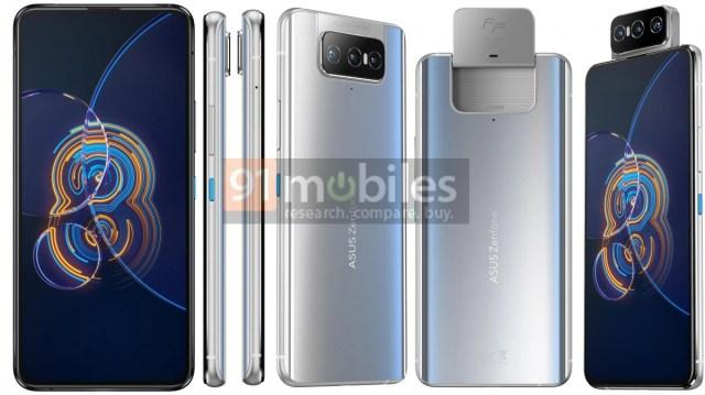 Asus Zenfone 8 and Zenfone 8 Flip's specs and renders leak