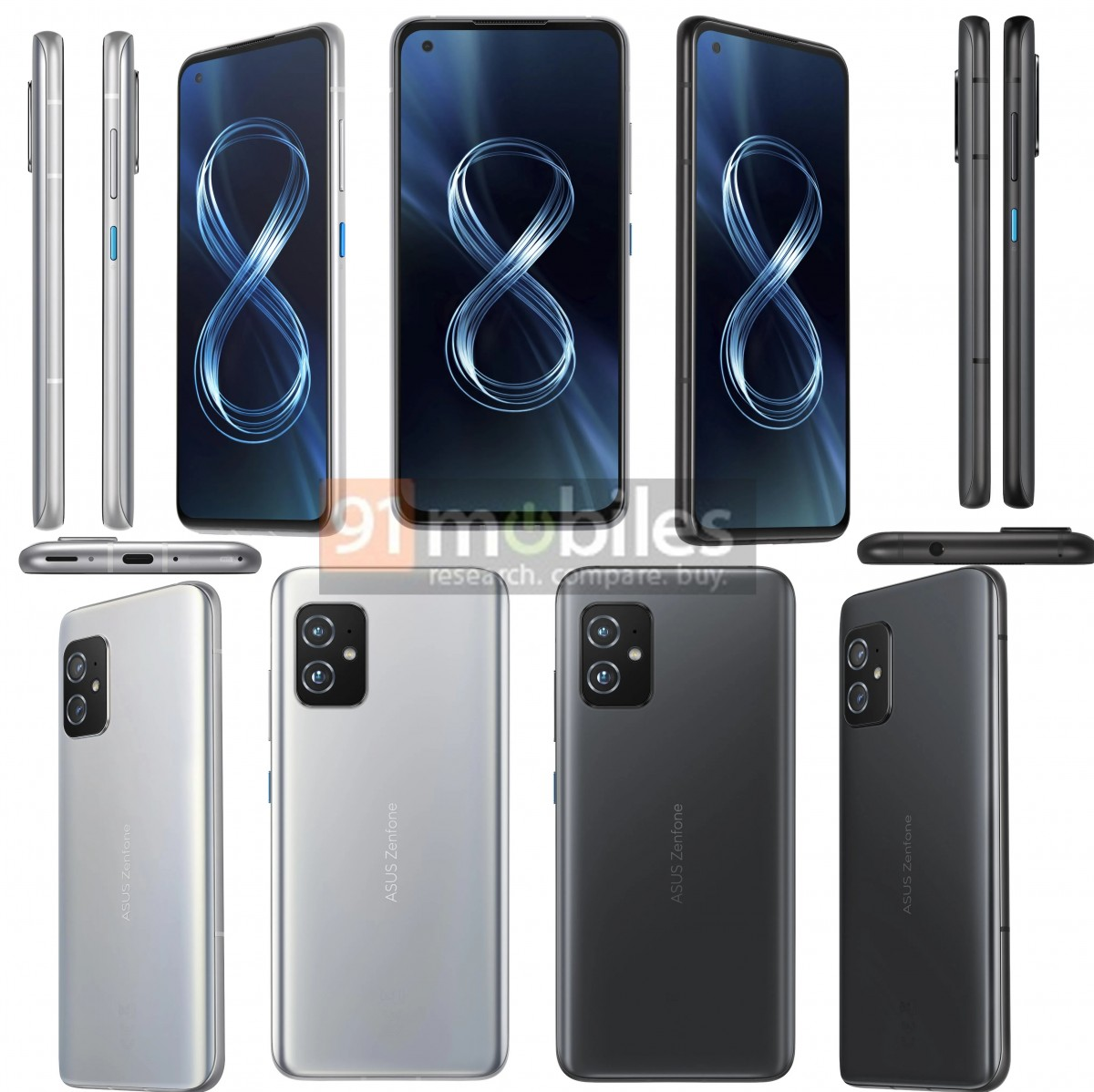 Asus Zenfone 8 specs surface in full, detailing all of the hardware