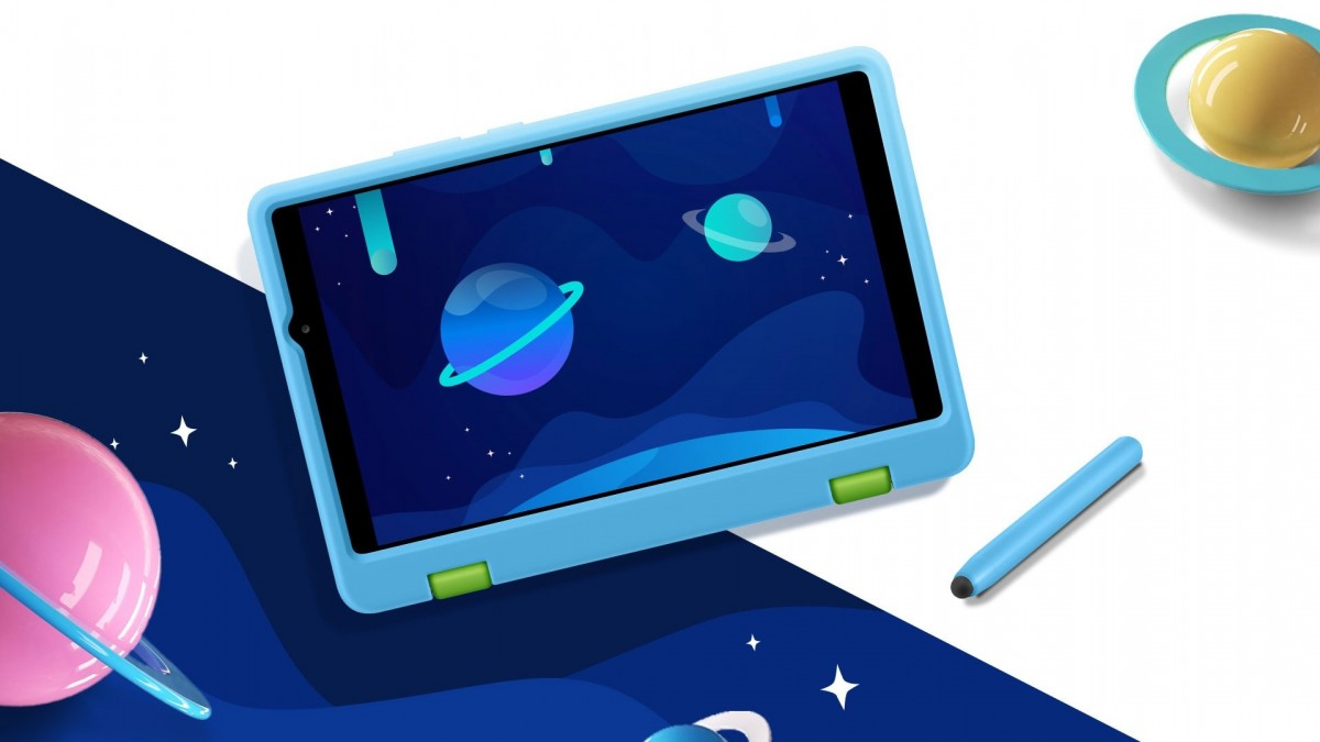 Honor Tablet X7 with kid-friendly case