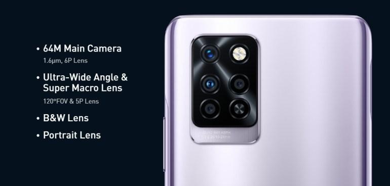 Infinix Note 10 Pro - Camera Specs