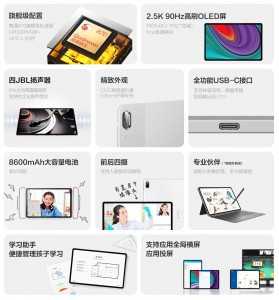 Lenovo Pad Pro 2021's top features