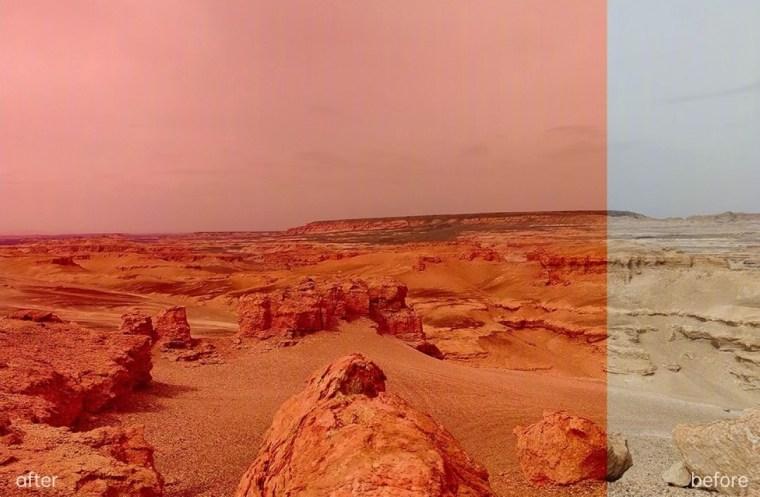 Mars filter