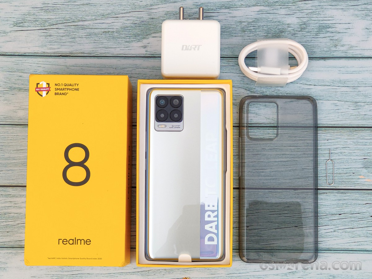 Realme 8 in for review
