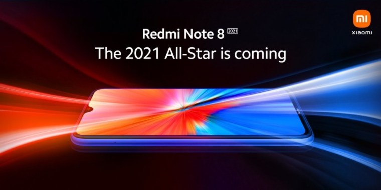 Redmi Note 8 2021 design revealed in new teaser