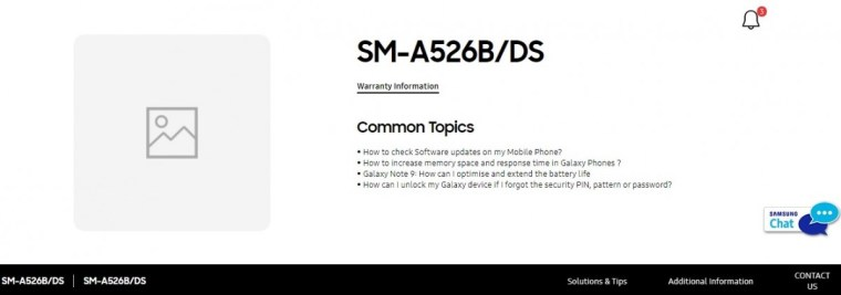 Samsung Galaxy A52 5G India launch imminent as support page goes live on official website