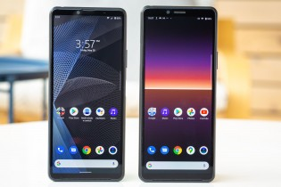 Sony Xperia 10 III is shorter than its predecessor