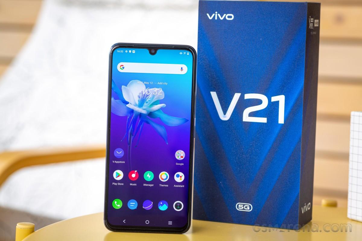 vivo V21 5G untuk ditinjau