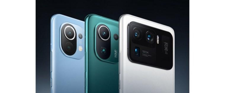 Xiaomi Mi 11, Mi 11 Pro, and Mi 11 Ultra reach 3 million cumulative sales worldwide