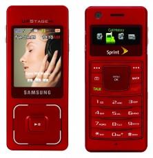 Samsung UpStage biasa, belakang dan depan