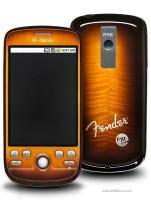 (HTC) T-Mobile myTouch 3G Fender Limited Edition dengan merek dagang Fender sunburst finish
