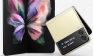 Samsung Galaxy Z Fold3 and Z Flip3 leak in official-looking renders