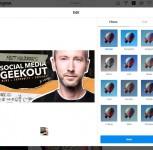 A quick glance of how Instagram on desktop works