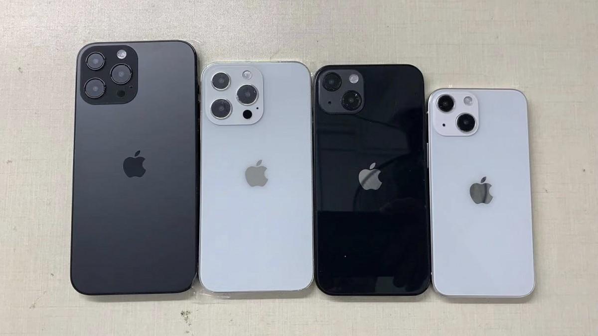 iPhone 13 Pro Max, 13 Pro, vanilla 13 dan 13 mini