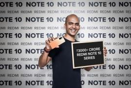 Over 2 million Redmi Note 10 units worth over ₹30 billion were sold in India