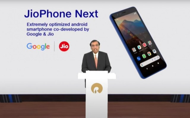 Reliance announces JioPhone Next in partnership with Google