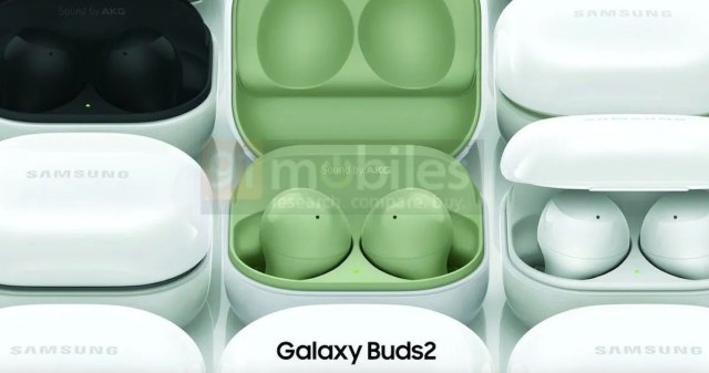 Samsung Galaxy Buds2 appear in leaked images, revealing design and color options