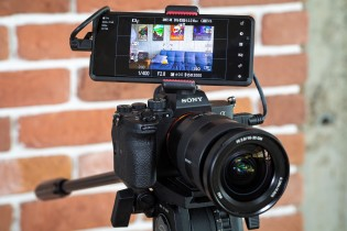 Using the Xperia Pro as a camera monitor