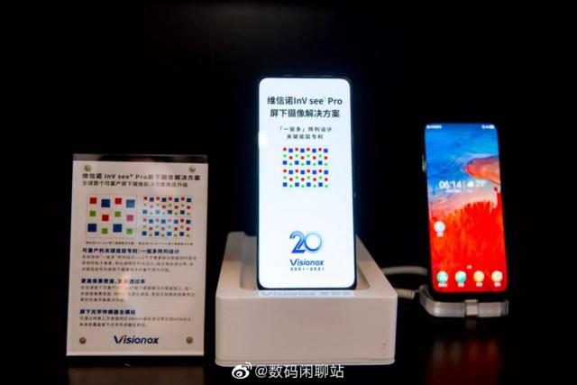 Visionox showcases second gen under-display camera prototype