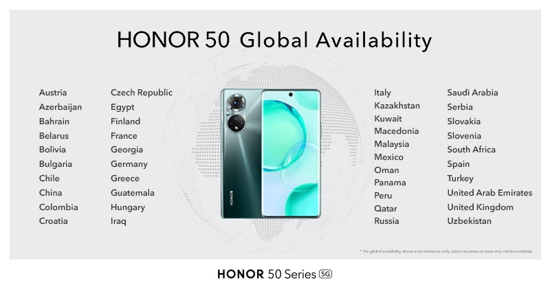 Hasil jajak pendapat mingguan: Honor independen memulai awal yang baik dengan seri Honor 50
