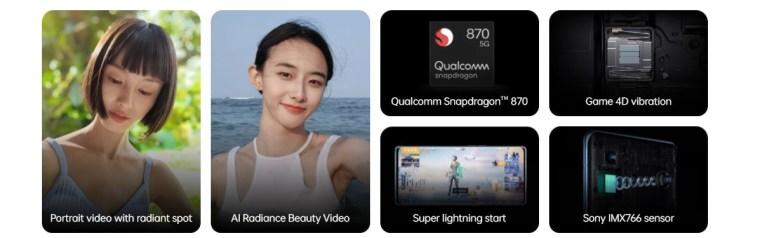 Oppo Reno6 Pro+ key features