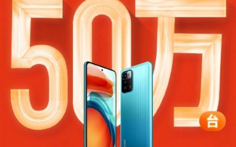 Xiaomi sells 500,000 Redmi Note 10 units in first sale