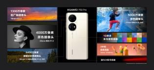 Camera details: Huawei P50 Pro