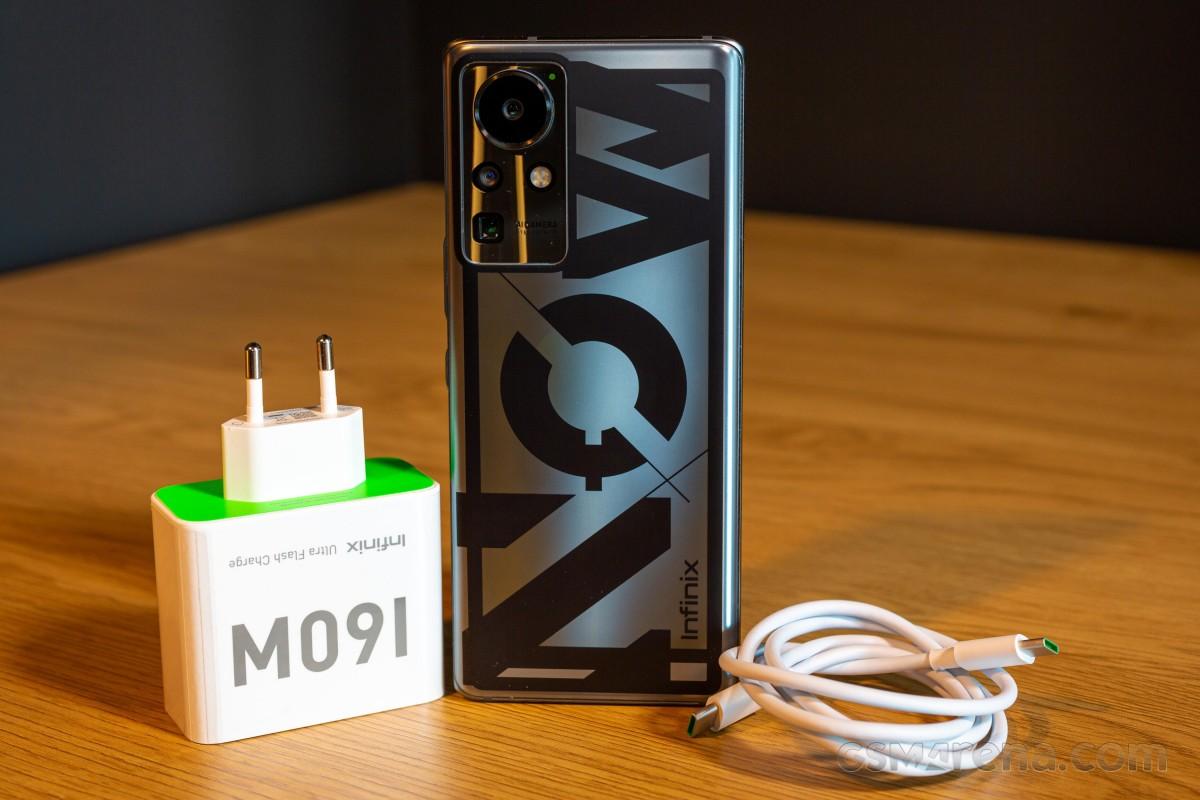 Infinix Concept Phone 2021 mendemonstrasikan sistem Ultra Flash Charge 160W