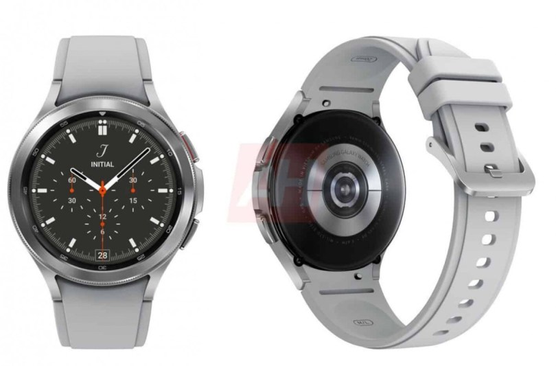 Previously leaked render of Samsung Galaxy Watch4