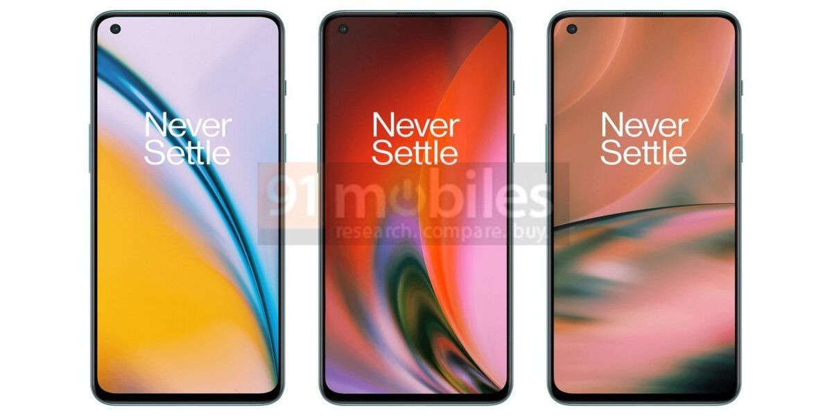 OnePlus Nord 2: new renders