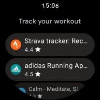 Capturas de tela da Play Store após a atualização
