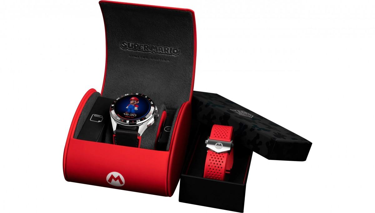 TAG Heuer meluncurkan jam tangan pintar Wear OS edisi terbatas bertema Super Mario