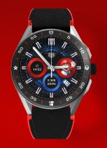Different Super Mario-themed watch faces
