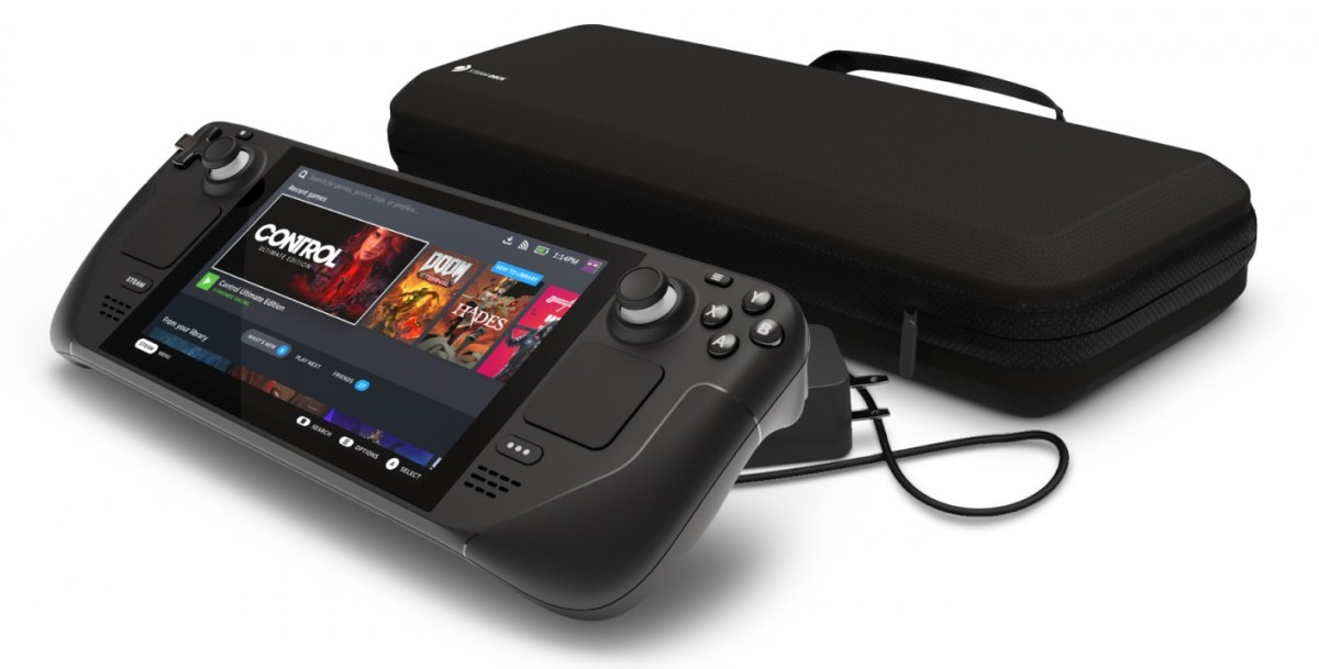 Valve Steam Deck adalah PC gaming genggam yang menjalankan SteamOS