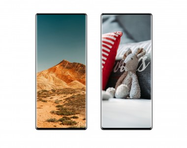 A render showing the Xiaomi Mi Mix 4 and its under display camera