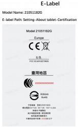 Sertifikasi Xiaomi Mi Pad 5 FCC