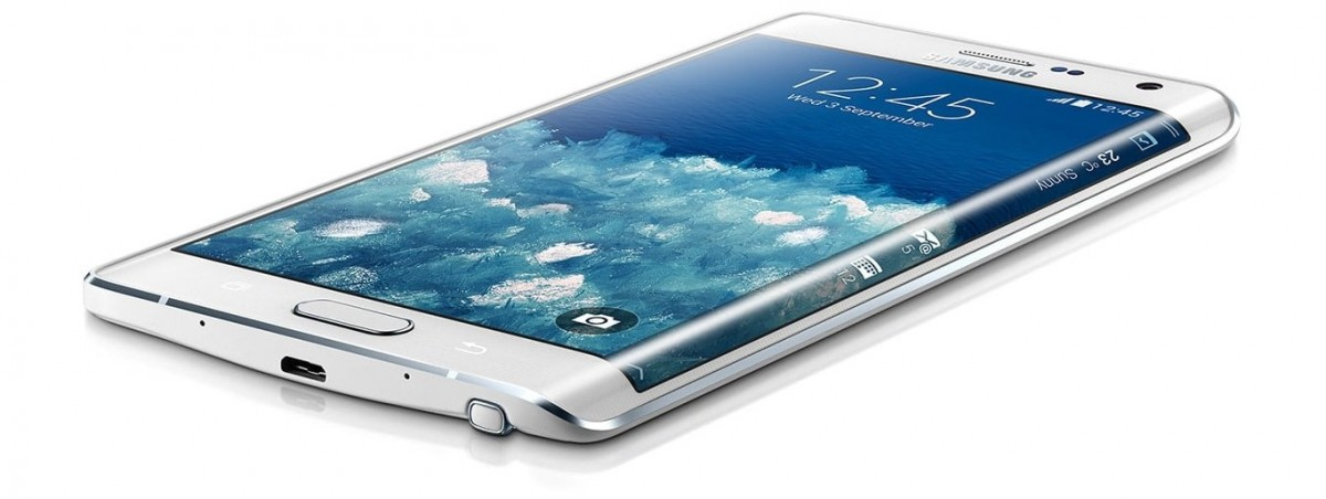 Samsung Galaxy Note Edge adalah yang pertama menampilkan layar dengan sisi melengkung (hanya yang pertama)