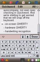 Trying to type a review on the Sony Ericsson P910 - Flashback: Sony Ericsson P910