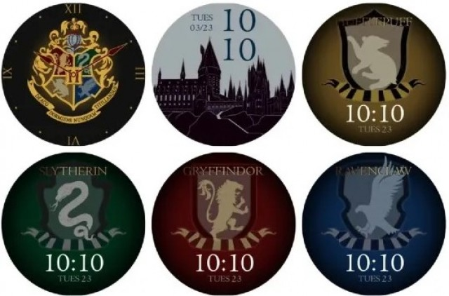 OnePlus Watch Harry Potter Edition watchfaces