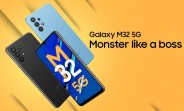 Samsung Galaxy M32 5G announced: Dimensity 720 and 48MP quad camera